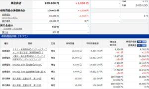 インデックス投資 資産状況 インデックスファンド